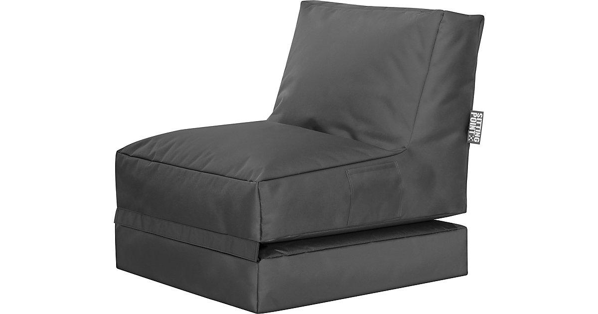 Sitting Point · Sessel 2 in 1 Twist SCUBA klappbar, anthrazit