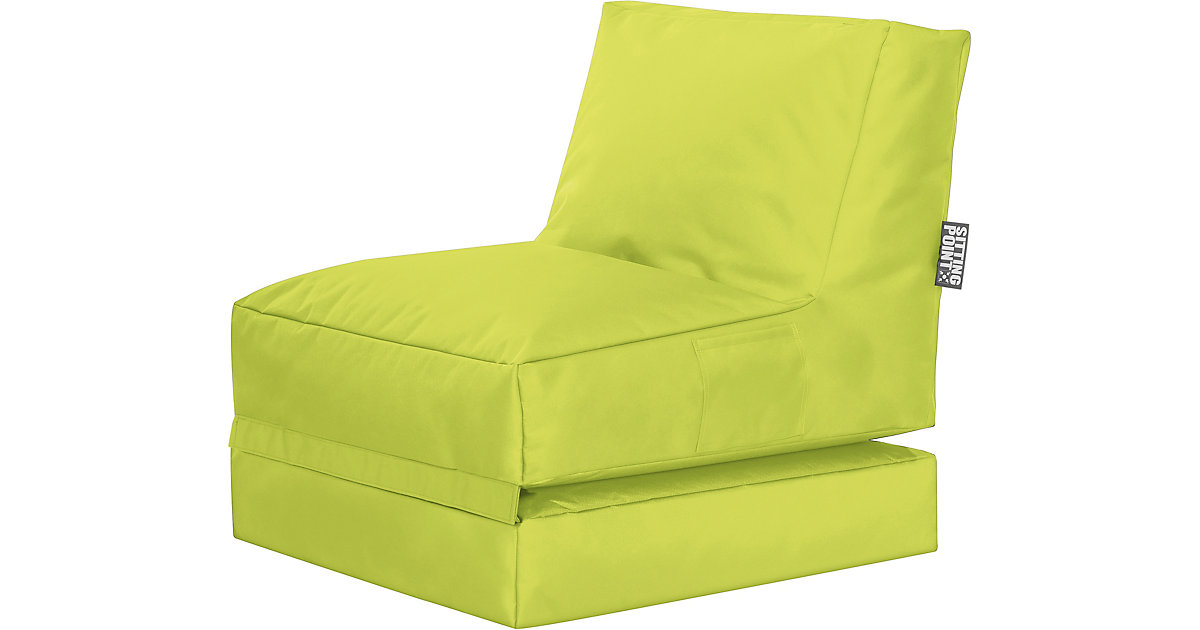 Sitting Point · Sessel 2 in 1 Twist SCUBA klappbar, grün
