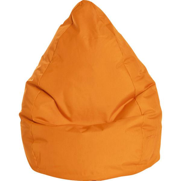 Sitzsack Beanbag Brava Xl 70 X 110 Cm Orange Sitting Point Mytoys