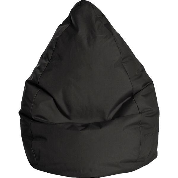 Sitzsack BeanBag BRAVA XXL, 80 x 130 cm, schwarz, Sitting Point   myToys