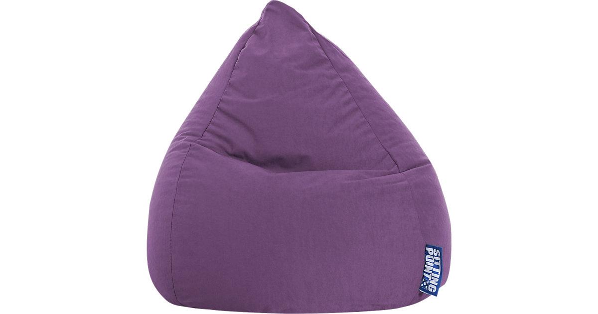 Sitzsack BeanBag EASY L, 70 x 90 cm, lila