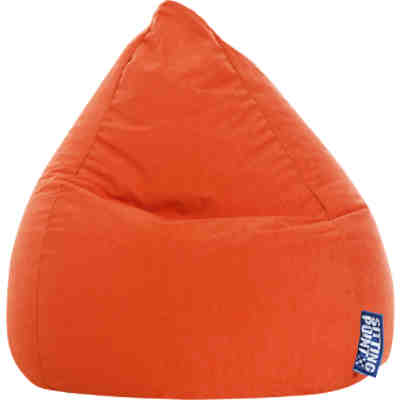 Sitzsack BeanBag EASY L, 70 x 90 cm, orange