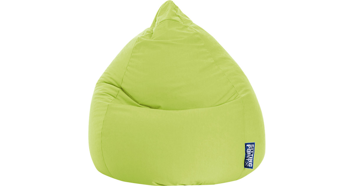 Sitzsack BeanBag EASY XL, 70 x 110 cm, grün