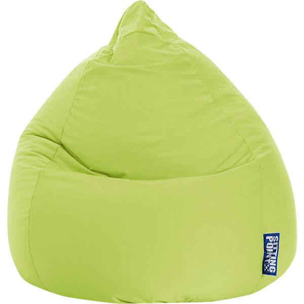 Sitzsack Beanbag Easy Xl 70 X 110 Cm Grün Sitting Point Mytoys