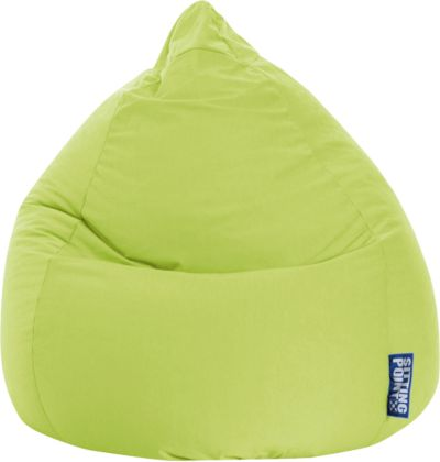 Sitzsack Beanbag Fluffy Stars Xl 70 X 110 Cm Grün Sitting Point