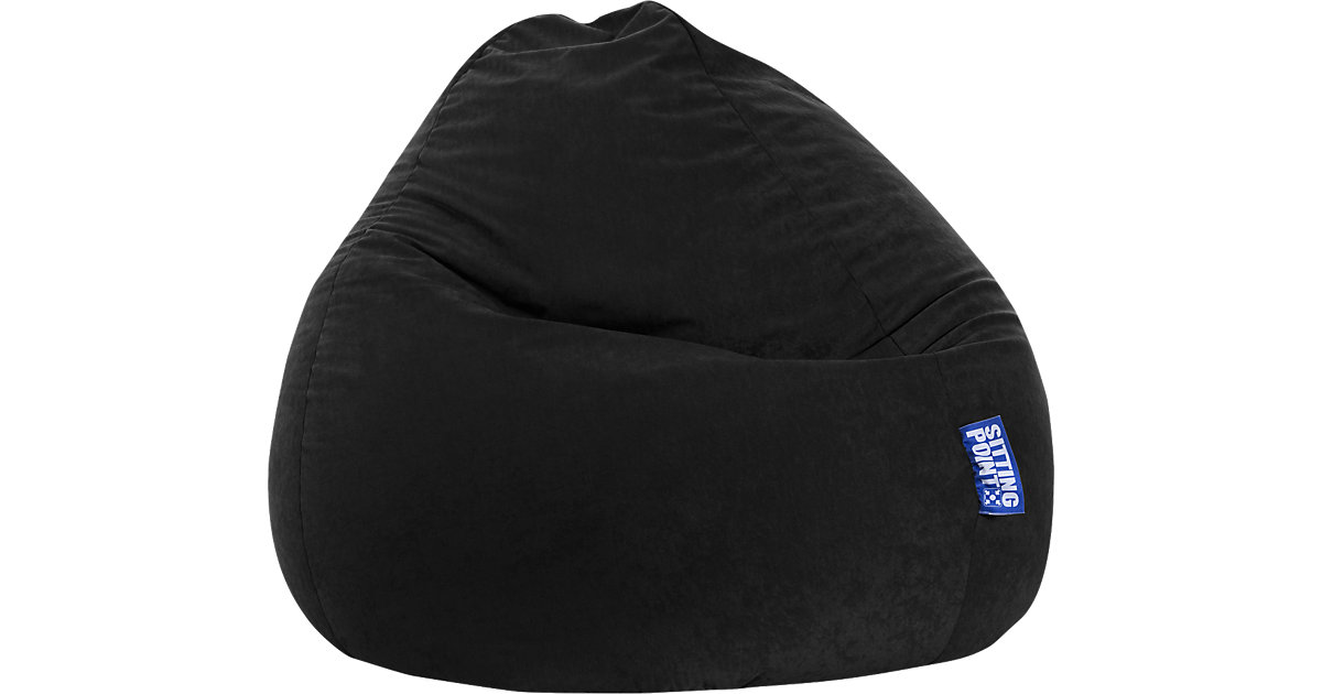 Sitzsack BeanBag EASY XXL, 70 x 130 cm, schwarz