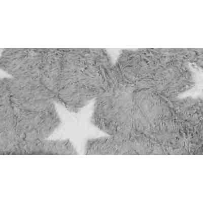Sitzsack Beanbag Fluffy Stars L 70 X 90 Cm Grau Sitting Point