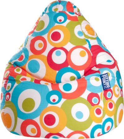 Sitzsack Beanbag Easy L 70 X 90 Cm Orange Sitting Point Mytoys