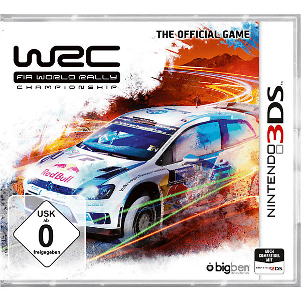 3DS WRC Fia World Rally