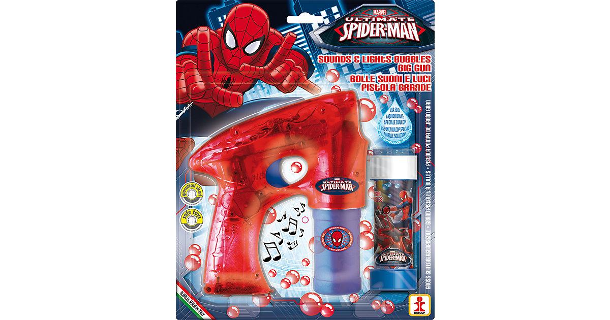 Dulcop · Seifenblasen-Pistole Spider-Man, inkl. Licht und Sound