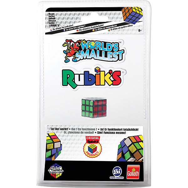 World Smallest Rubik´s Cube