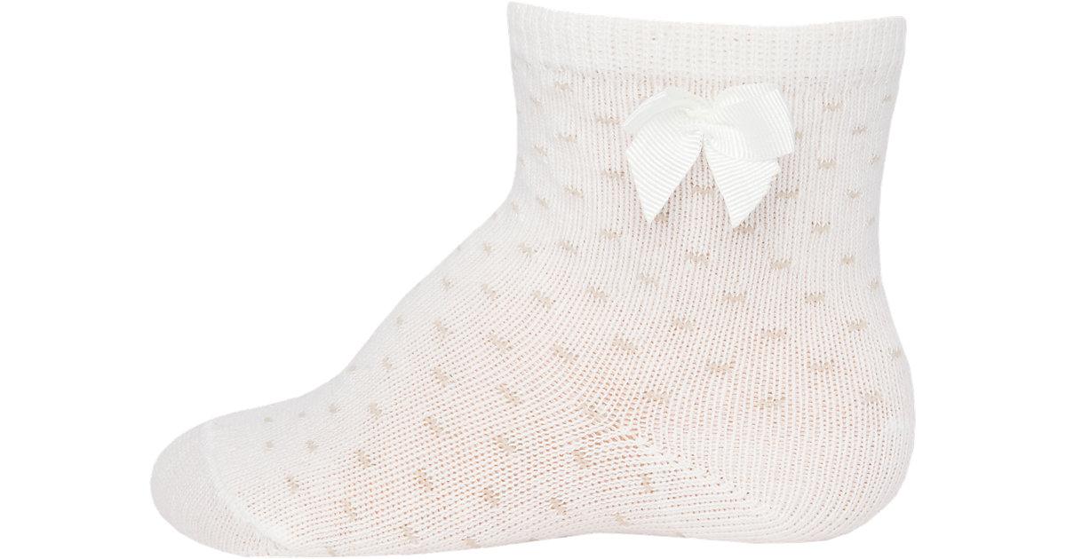 Baby Socken , Pünktchen beige Gr. 27-30 Mädchen Kinder