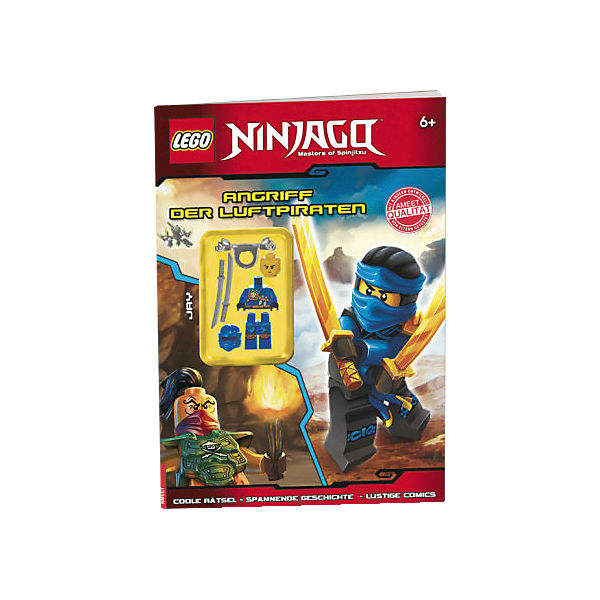 Lego ninjago angriff der luftpiraten mit ninjago for Kinderzimmer ninjago