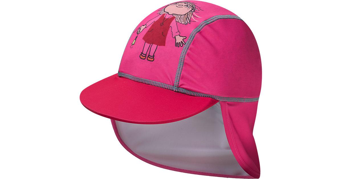 Baby Cap Willi Wiberg mit UV-Schutz pink Gr. 48 Mädchen Kleinkinder