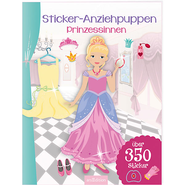 Sticker-Anziehpuppen: Prinzessinnen