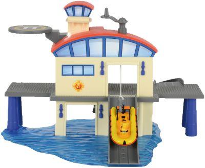 Морской гараж с лодкой, Пожарный Сэм, Dickie