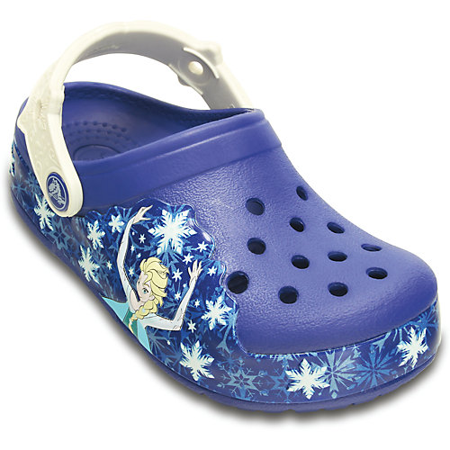 Сабо CROCS Lights Frzen Clg K - синий от crocs