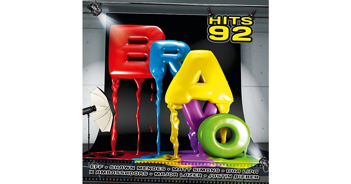 CD Bravo The Hits Vol.92