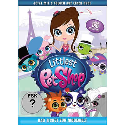 DVD Littlest Pet Shop - Das Ticket zur Modewelt