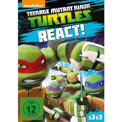 DVD Teenage Mutant Ninja Turtles: React - Staffel 3.3