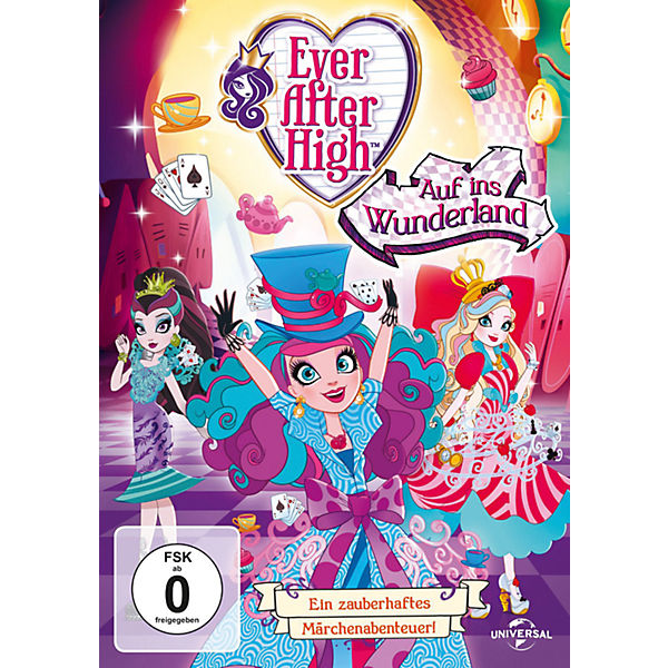 DVD Ever After High - Auf ins Wunderland