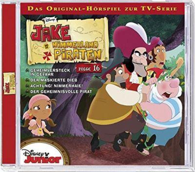 CD Disney Jake Und Die Nimmerland Piraten 16