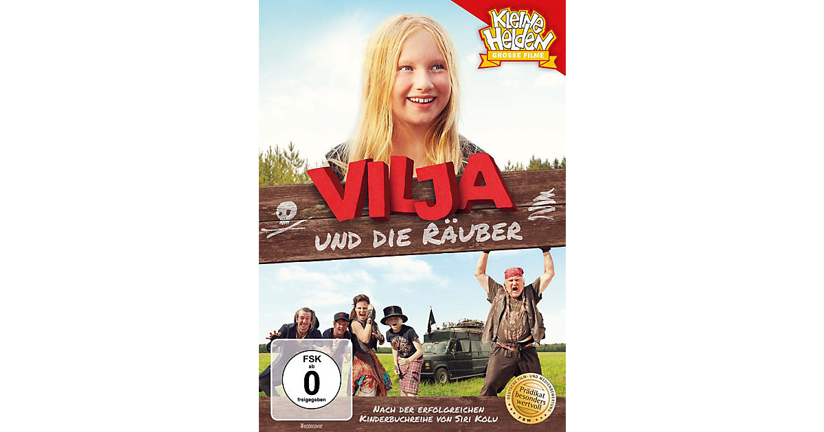 DVD Vilja und die Räuber Hörbuch