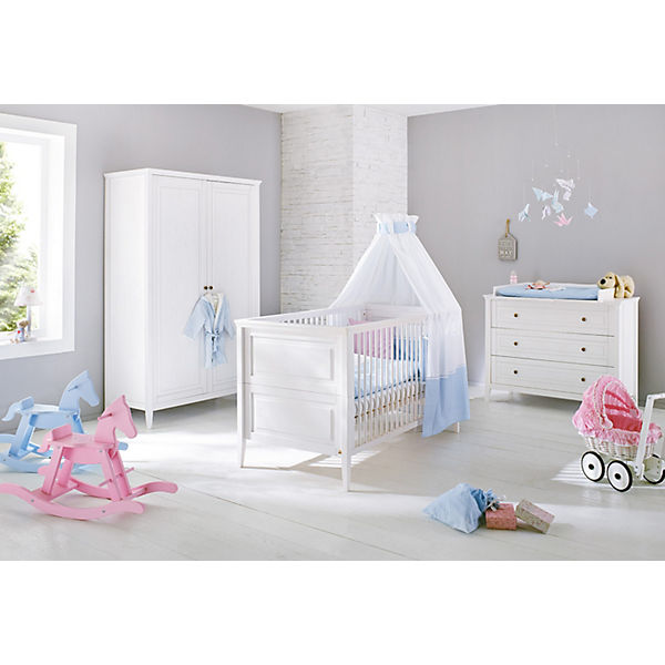 komplett kinderzimmer smilla kinderbett wickelkommode. Black Bedroom Furniture Sets. Home Design Ideas