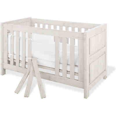 sparset lolle kinderbett und wickelkommode esche grau pinolino mytoys. Black Bedroom Furniture Sets. Home Design Ideas