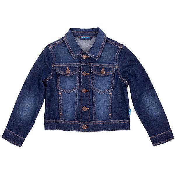 Джинсовая куртка для мальчика Button Blue