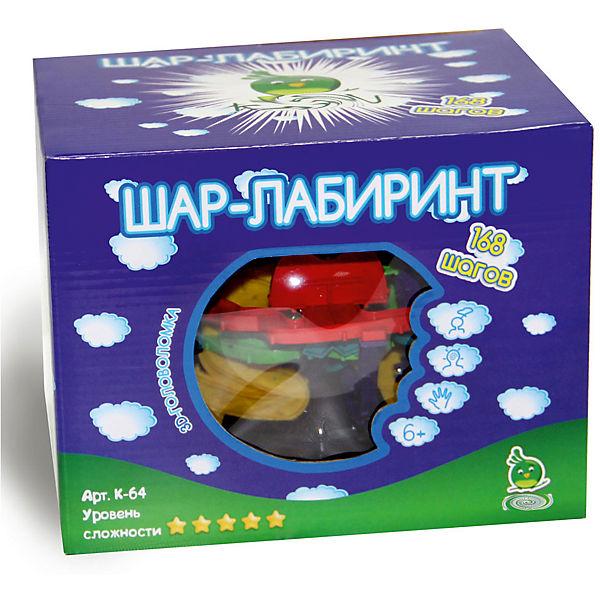 """Шар-лабиринт 168 шагов """"дыня"""", диам. 22см"""