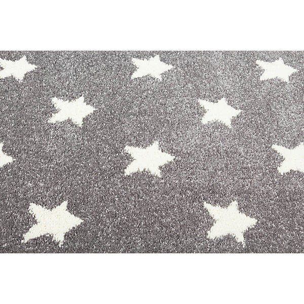 teppich litlle stars silbergrau wei happy rugs mytoys. Black Bedroom Furniture Sets. Home Design Ideas