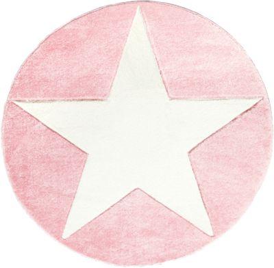 Teppich rosa weiß  Teppich, STARS rosa/weiß, 160 x 230 cm, Happy Rugs | myToys