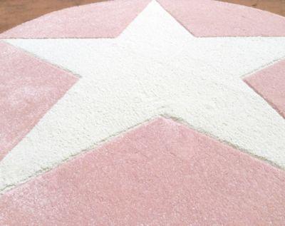 Teppich rosa weiß  Teppich, STAR rosa/silbergrau, 160 x 230 cm, Happy Rugs | myToys