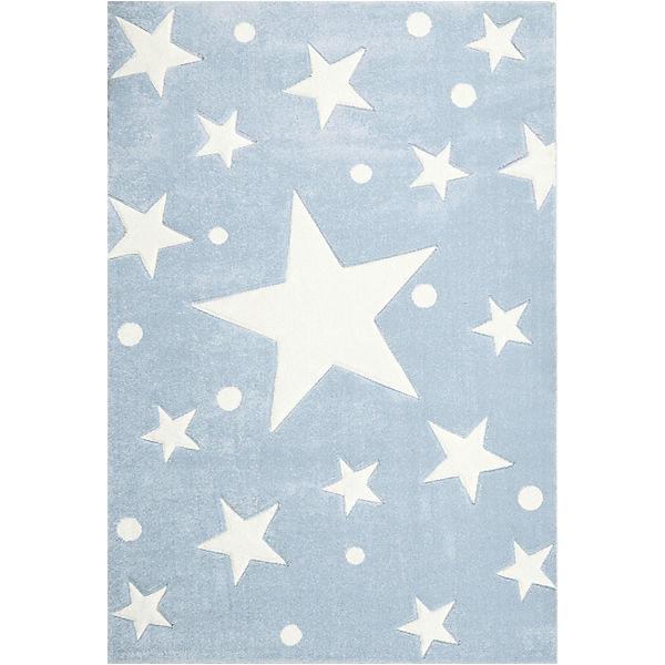 teppich stars blau wei happy rugs mytoys. Black Bedroom Furniture Sets. Home Design Ideas
