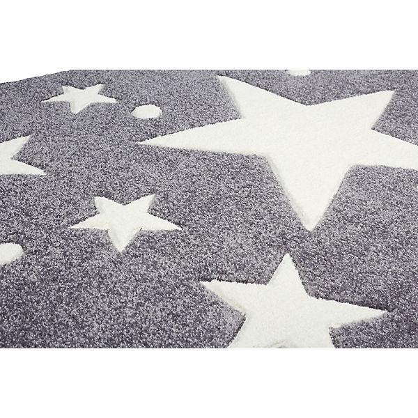 Teppich Stars Silbergrau Wei 223 Happy Rugs Mytoys