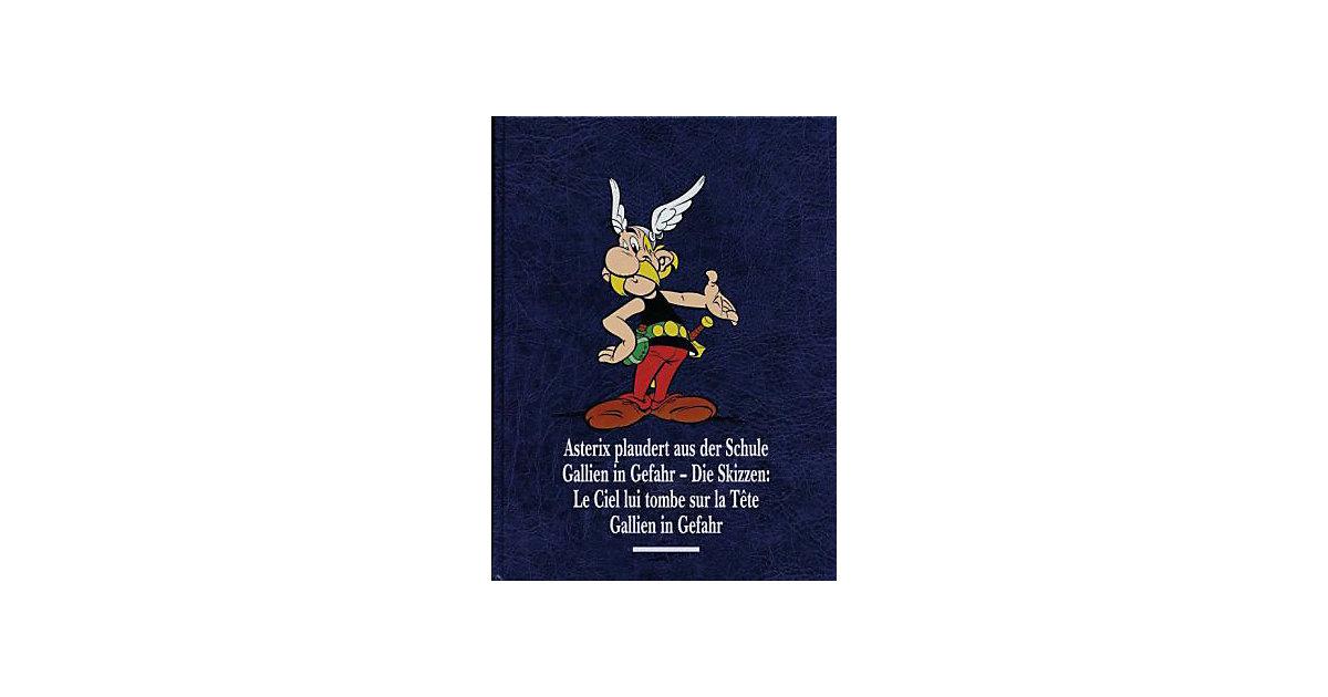 Egmont · Asterix Gesamtausgabe: Asterix plaudert aus der Schule, Gallien in Gefahr, Gallien in Gefahr: Die Skizzen