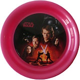 "Тарелка ""Звездные войны"" (диаметр 19 см), Звездные войны, бордовый"