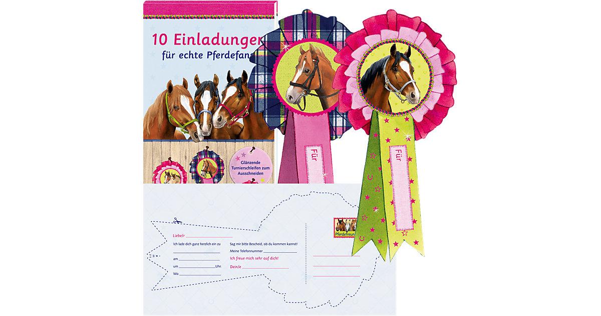 Pferdefreunde: 10 Einladungen echte Pferdefans ...