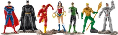 Schleich Comics: 22528 THE JUSTICE LEAGUE