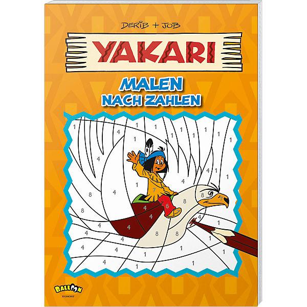 Yakari malen nach zahlen derib job mytoys for Kinderzimmer yakari