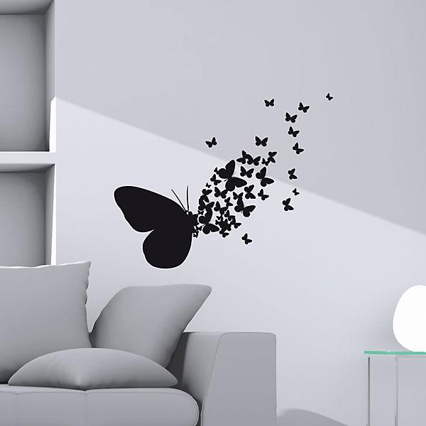 Wandsticker Schmetterling,
