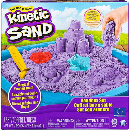 Kolkwitz Angebote Spin Master Kinetic Sand Box Set, lila
