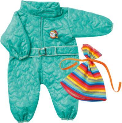 Puppenkleidung Skianzug mit Mütze, Gr. 43