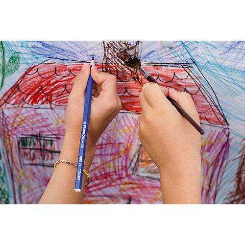 Набор цветных карандашей Stabilo Aquacolor 36цв, картон от STABILO