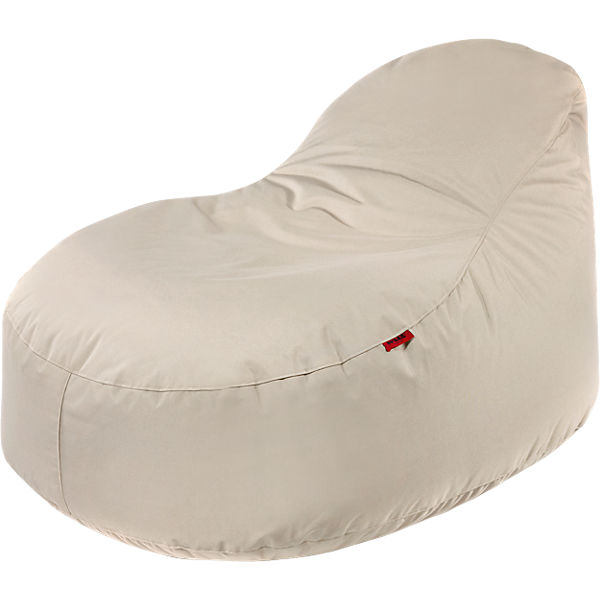 Outdoor-Sitzsack Slope XL, Plus, beige
