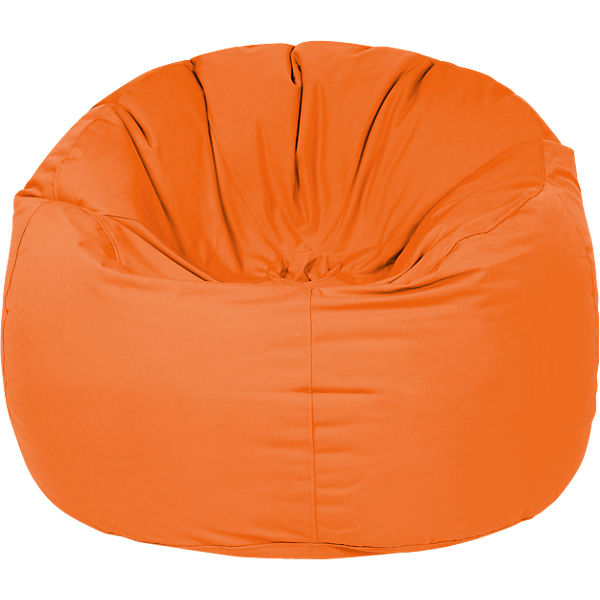 Outdoor-Sitzsack Donut, Plus, orange