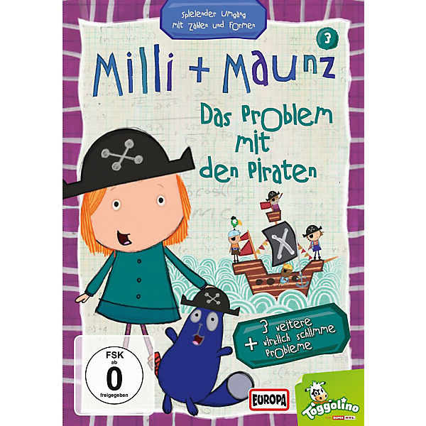 DVD Milli + Maunz 03 - Das Problem mit den Piraten