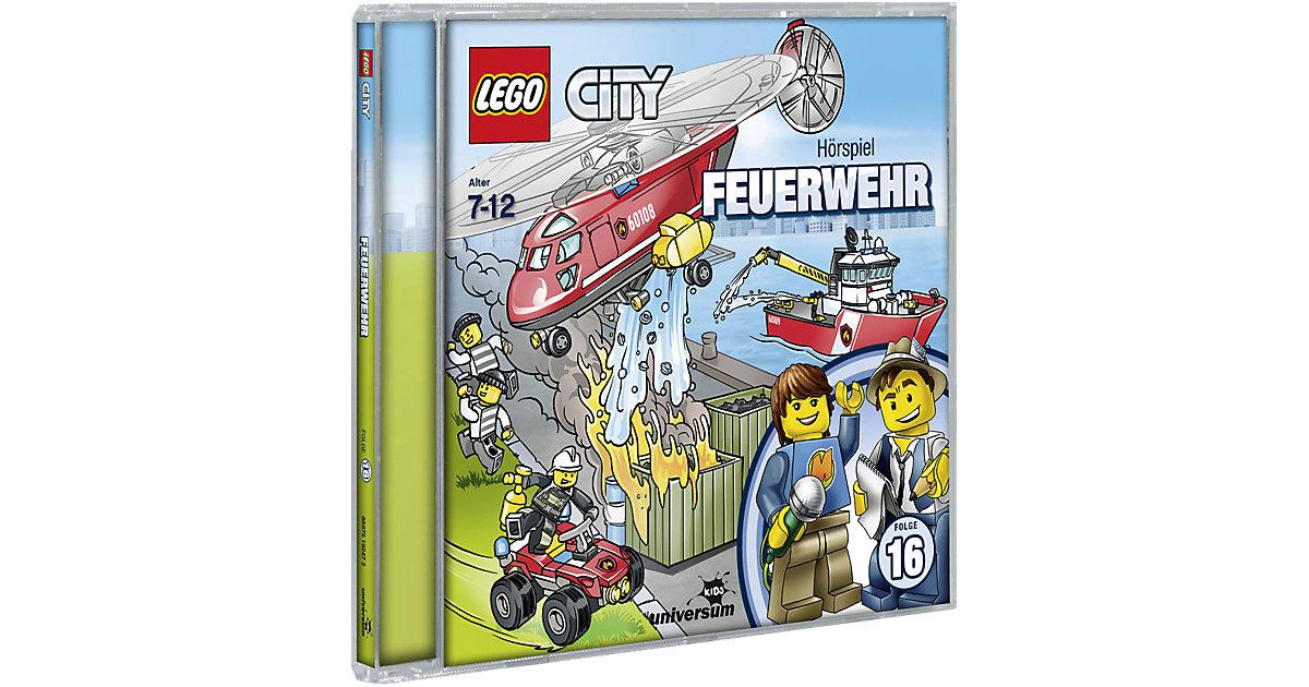 CD LEGO City 16 - Feuerwehr Hörbuch
