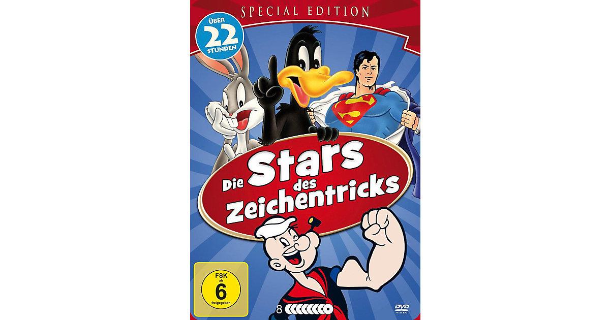 DVD Die Stars des Zeichentricks (Metallbox)